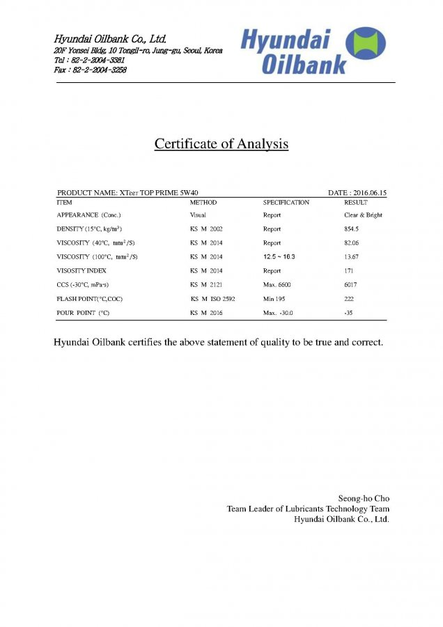 Сертификаты продукции